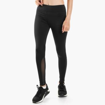Harga SM Woman Active Mesh-Paneled Leggings (Black)