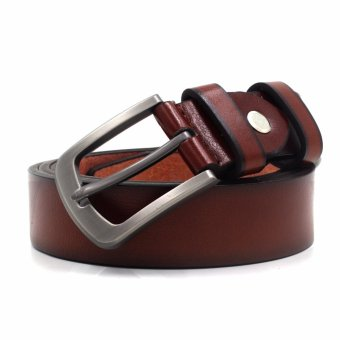 Attraxion Bert 08 Leather Belt (Brown) Price Philippines