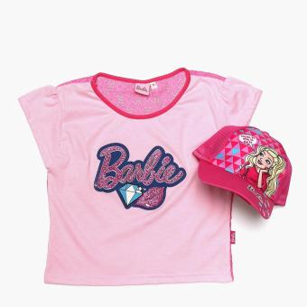 Harga Barbie Girls Dream It Cap and Tee Set (Size 10)