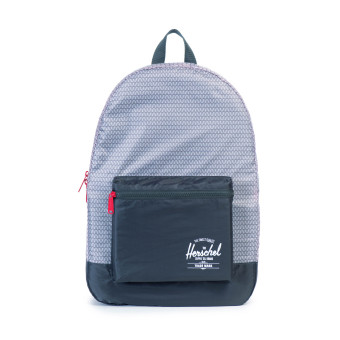 Harga Herschel Packable Daypack Backpack (Prism/Dk Shadow/Red)