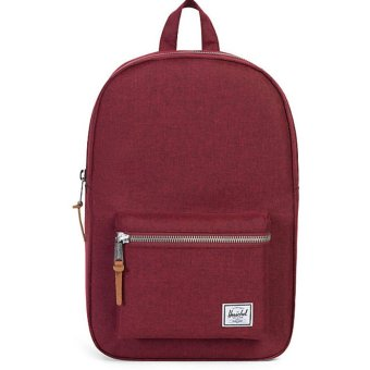 Harga Herschel Supply Co. Settlement Backpack (Wine Crosshatch)
