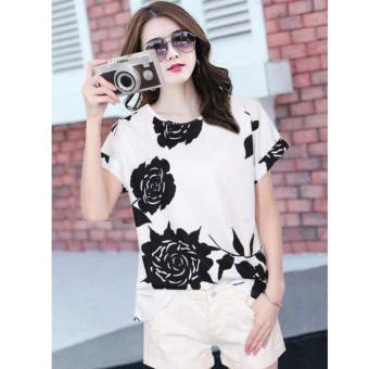 Fashionista Ha-Yun Women Korean Floral Blouse Price Philippines