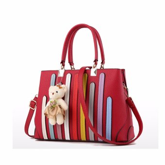 Harga Korean stereotypical sweet fashion handbag(red)