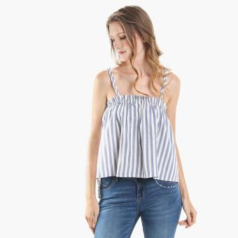 Harga SM Woman Striped Cami Top (Blue)