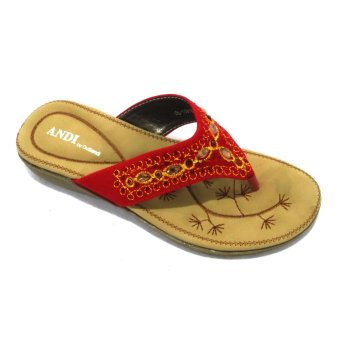 Harga Outland Andi 159165 Sandals (Red)