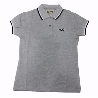 Hollister-A-96 Women's Polo Shirt(Grey) Price Philippines