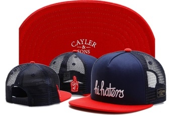 Harga Unisex Cayler Sons Black Label Hi Haters Trucker Snapback Hat