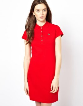 Harga Lacoste Dress for Women (RED)