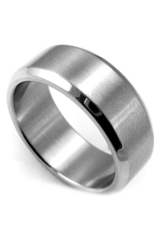 Fancyqube Stainless Steel Ring Band Titanium Silver Men Size 11 Wedding Sliver Price Philippines