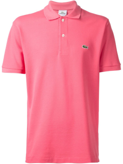 Harga LACOSTE CLASSIC POLO SHIRT FOR MEN (HOTPINK)
