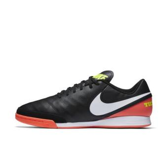 NIKE MEN TIEMPOX GENIO II LEATHER IC FOOTBALL SHOE BLACK 819215-018 US7-11 01' - intl Price Philippines