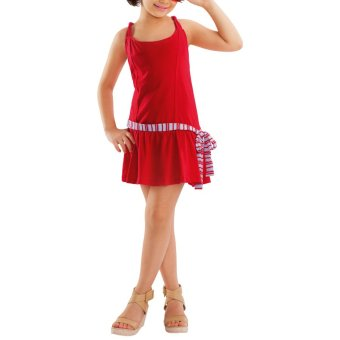 Harga MSE Saige Kid's Dress (Red)