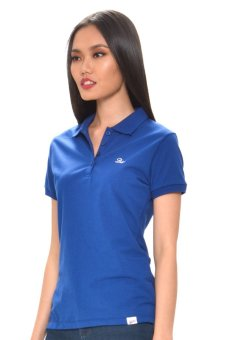 Harga Bobson Ladies' Solid Polo Tee (Blue)
