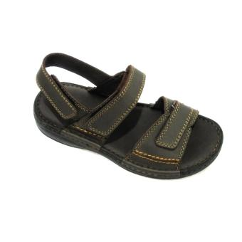 Harga Outland Tim Sandals (Brown shiny/Brown)