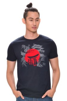 Harga Bobson Men's Graphic Tee (Black)