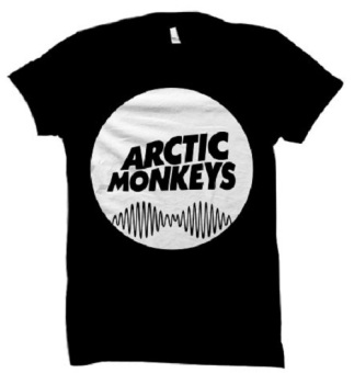 All About Rock Arctic Monkeys Band Shirt (Black) Price Philippines