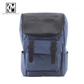 Karakter Manila Denim 601 Backpack Bag ( Blue ) Price Philippines