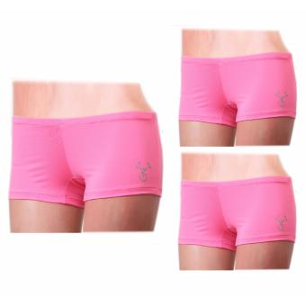Harga Outperformer Sports Micro Shorts with Dryperform and 3D Extra Stretch (Pink)