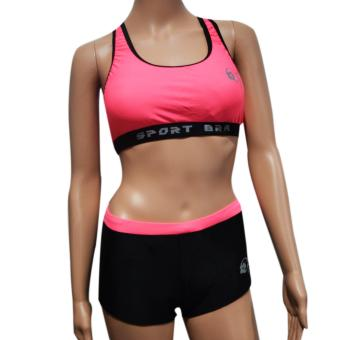 Harga Fashion Sports bra with sexy short Pomelo XL/XXL F1568