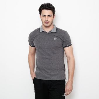 Harga Bum Men's Lacoste Collar Tee (Acid Black)