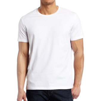 Harga Hanes Tagless Comfort for Men Crew Neck (White) - Set of 3