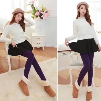 Fashionista Fashionable Plain Leggings (Violet) Price Philippines