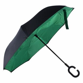Karakter Manila Inverted Umbrella C- handle ( Green ) Price Philippines