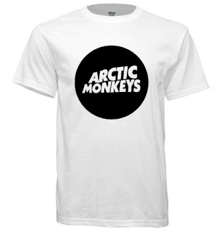 Fan Arena Arctic Monkeys T-Shirt (White) Price Philippines
