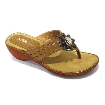 Harga Outland 159229 Andi Sandals (Light Brown)