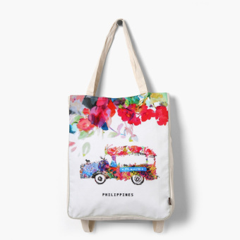Kultura Floral Manila Jeep Dual Purpose Bag Price Philippines