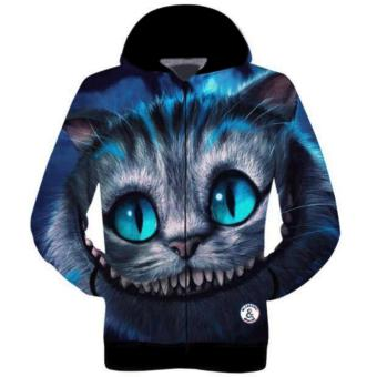 Fashionista H&Q Cheshire Cat Sublimation Hoodie Jacket Price Philippines