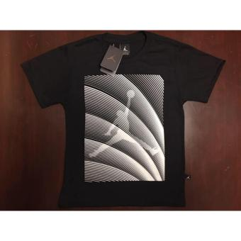 Hoops Jordan Logo with stripes diagonal t-shirt Price Philippines