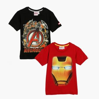 Harga Marvel Avengers Boys 2-piece Graphic Tee Set (Size 4)