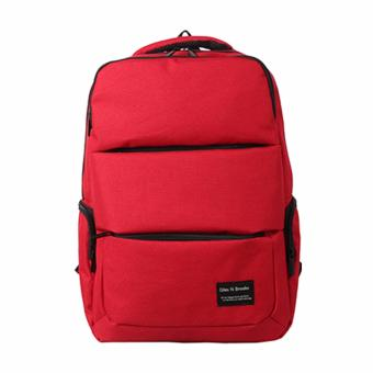 Harga CNA 3560 Korean School Backpack (Red)