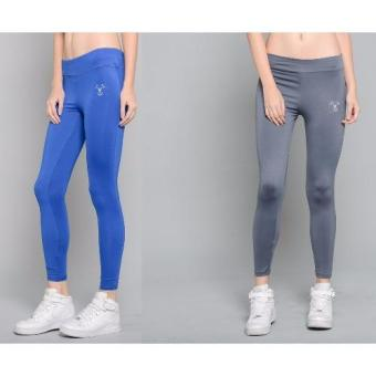 Harga Outperformer Casual Yoga Leggings with Extra Stretch and Dryperform Set of 2 (Blue Allure and Indigo Screen)