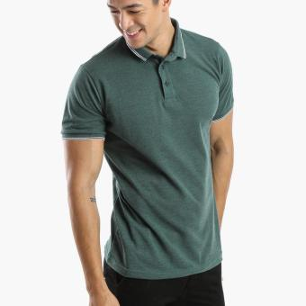 Men's Club Mens Pique Polo Shirt (Green) Price Philippines