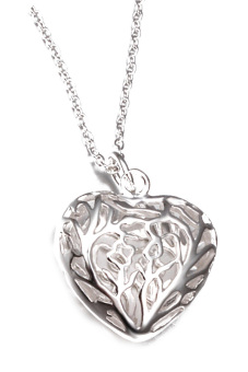 Fancyqube Gift Women 925Sterling Silver Pendant Heart Necklace Jewelry Sliver Price Philippines