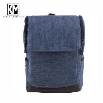 Karakter Manila Denim 533 Backpack Bag ( Blue ) Price Philippines