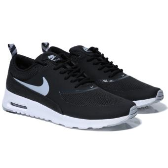 NIKE WOMEN AIR MAX THEA BLACK/WOLF GREY SHOES 599409-007 US5.5-9 09H' - intl Price Philippines