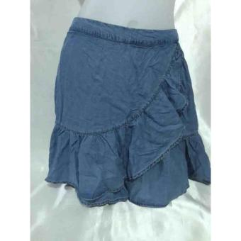 Harga Denim skirt for her (blue)