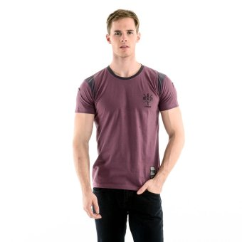 Harga Brit London Roundneck T-Shirt (Plum)