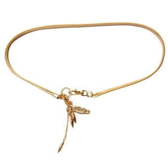 lucky fashion belt (gold) Price Philippines