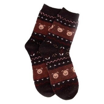 Harga Be Fab Koala Cotton Socks (Black)