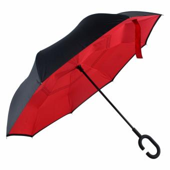 Karakter Manila Inverted Umbrella C- handle ( Red ) Price Philippines
