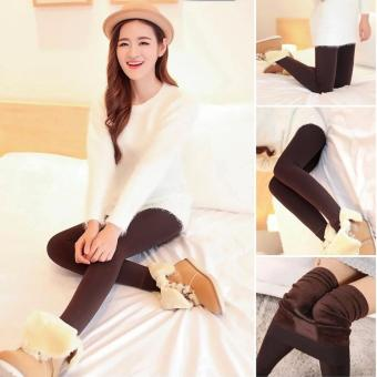 Fashionista Fashionable Plain Leggings (Brown) Price Philippines