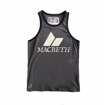 Macbeth 2031AK001 Regular Fit Sando (Dark Grey) Price Philippines