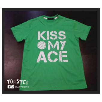 Toasted Kiss my Ace Volleyball Tee Mens (I.Green) Price Philippines