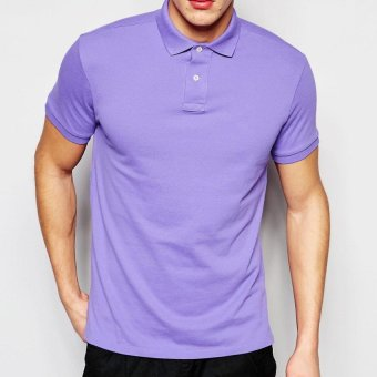 Lifeline Polo Shirt (Lilac) Price Philippines