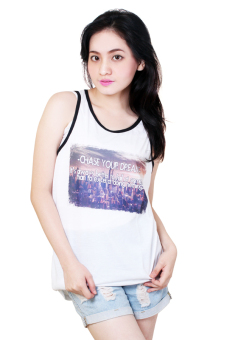 Chase Your Dream Quotable Printed White Sando Price Philippines