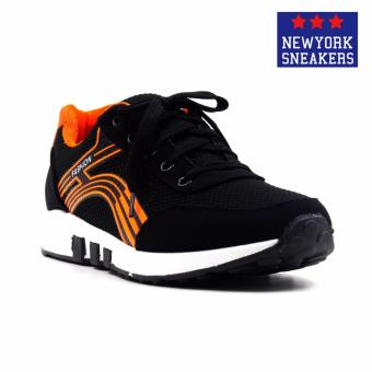New York Sneakers Tom Rubber Shoes(BLACK) Price Philippines